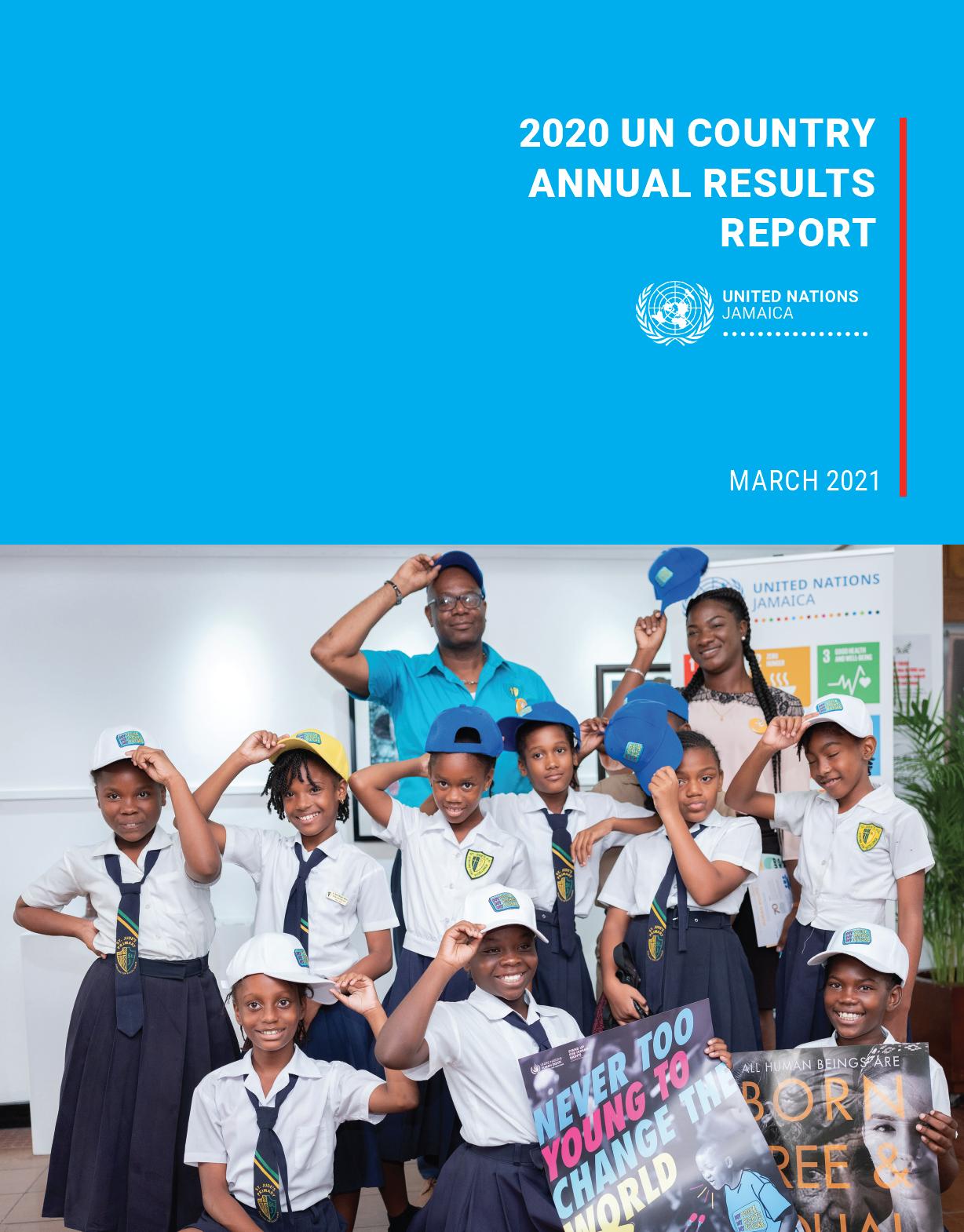 UN Jamaica Annual Results Report 2020